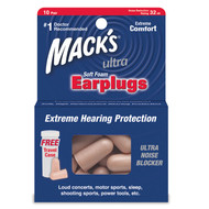 Macks Ultra Soft Foam Earplugs