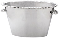 "Pearled Double Ice Bucket ""Call to add Personalization"""
