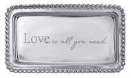 "Statement Tray ""Love is all you need"""