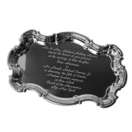 Pewter Wedding Tray (with your invitation)