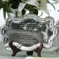 Tray with Wedding Invitation