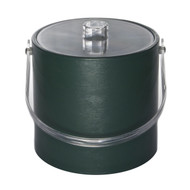 Dark Green Ice Bucket $45 Call to order / Personalize with a monogram!