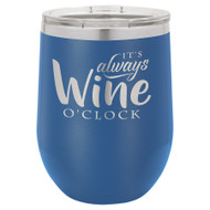Polar Camel 12 oz. Vacuum Insulated Stemless Wine Glass w/Lid Call to order