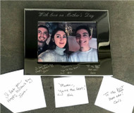 Engraved Handwritten Frame Call for pricing.
