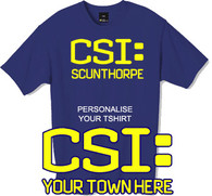 Custom print your own CSI tshirt