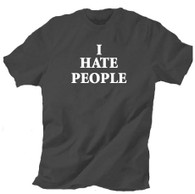 I hate people t shirt