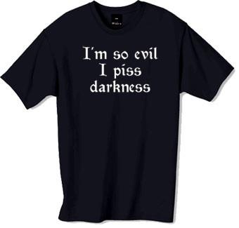 Im so evil tshirt