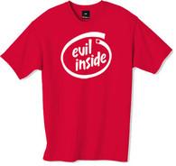 Evil inside tshirt