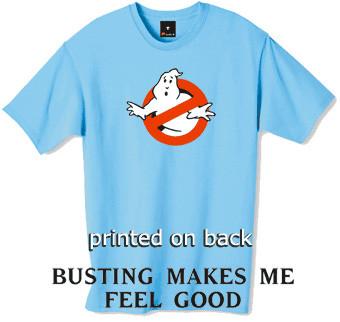 Ghostbusters tshirt