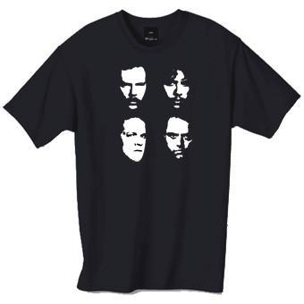 Faces of Metallica tshirt