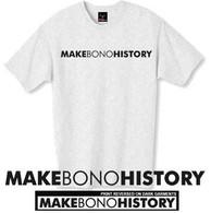 make Bono history tshirt