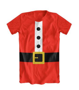 santa outfit tshirt