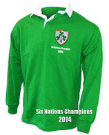 Ireland Six Nations Champions 2014 rugby shirt