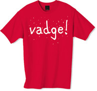 Vadge t-shirt from the popular TV series the Inbetweeners a must have for the true fan