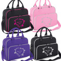 Girls Personalised Ballet Dance Shoulder Bag Free Printing Dancing Heart Design