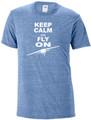 """Keep Calm and Fly On"" Tee-Shirt"