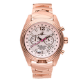Abingdon Katherine Frequent Flyer Rose Gold Watch