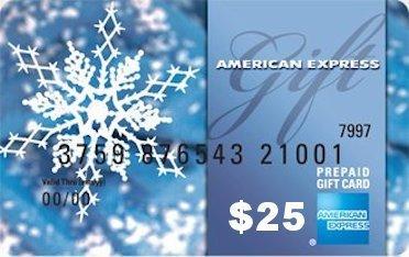 $25 Amex Gift Card