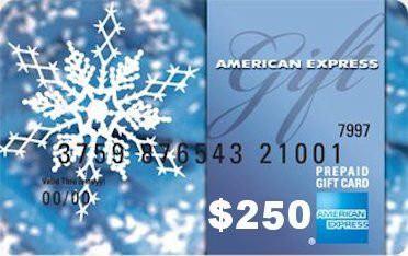 $250 Amex Gift Card
