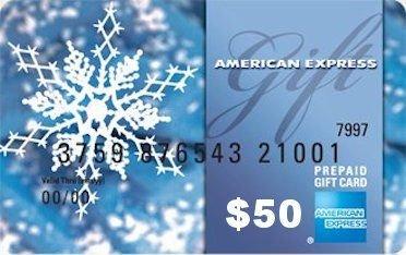 $50 Amex Gift Card