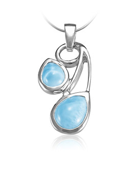 MarahLago Seduction Collection Larimar Necklace
