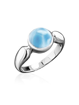 MarahLago Liquido Collection Larimar Ring