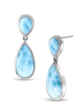 MarahLago Basics Collection Double Pear Earrings - 3x4