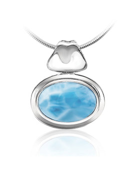 MarahLago Caressa Collection Larimar Necklace