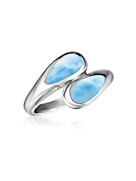 MarahLago Indra Collection Larimar Ring