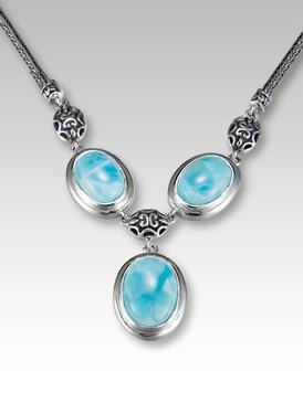 MarahLago Sidra Larimar Necklace - 3x4