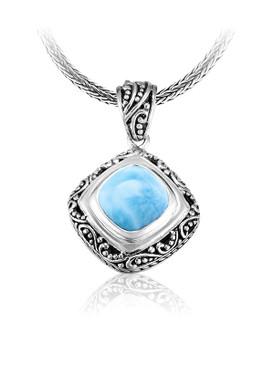 MarahLago Woodland Collection Larimar Necklace