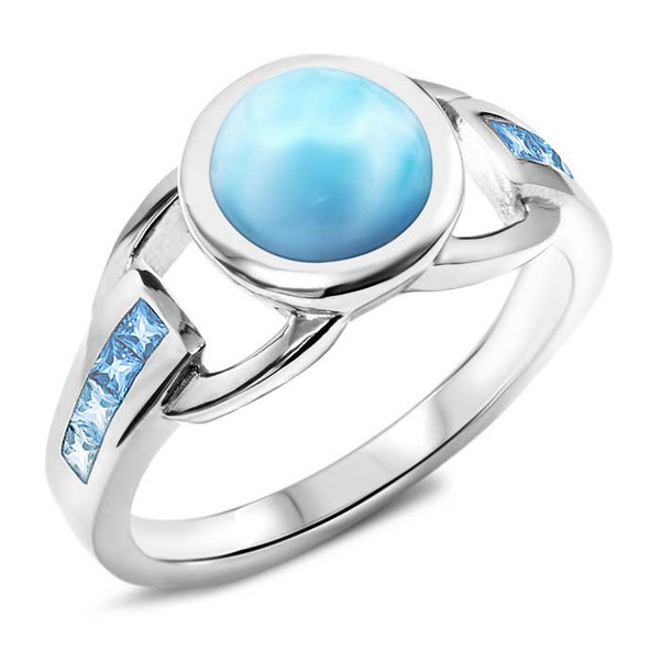 MarahLago Aqua Collection Larimar Ring