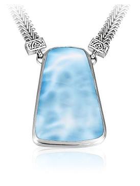 MarahLago Hanna Collection Larimar Necklace
