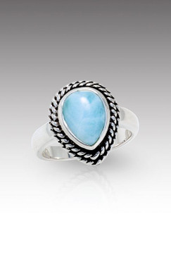 MarahLago Reina Collection Larimar Ring - New Design