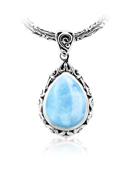 MarahLago Kai Collection Larimar Necklace
