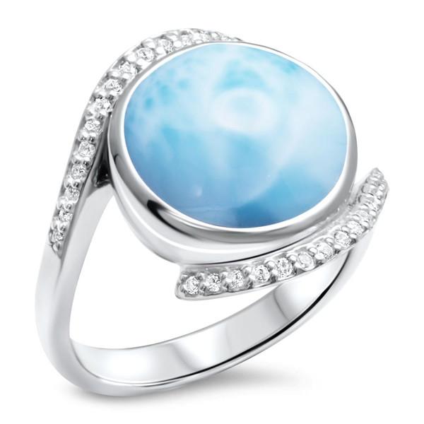 MarahLago Adella Collection Larimar Ring