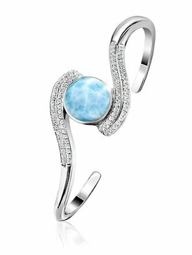 MarahLago Adella Collection Larimar Bracelet