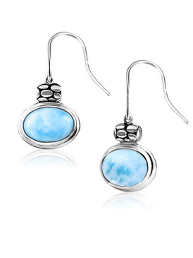 MarahLago Tortuga Collection Larimar Earrings