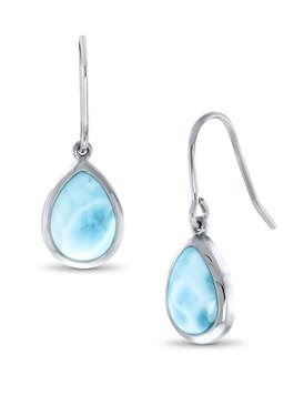 MarahLago Basics Pear Dangle Larimar Earrings