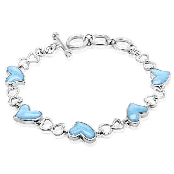 MarahLago Floating Heart Bracelet