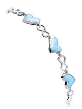 MarahLago Floating Heart Bracelet
