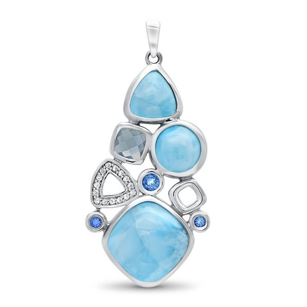 MarahLago Alexandria Small Larimar Necklace