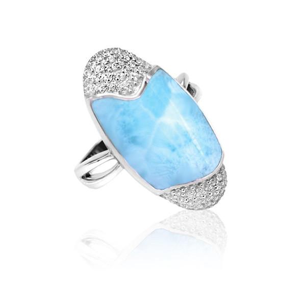 MarahLago Cascadia Larimar Ring