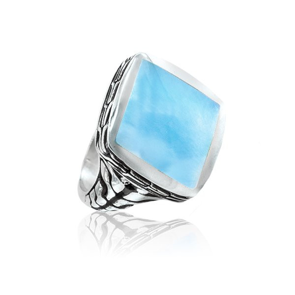 Marahlago Titan Men S Larimar Ring Newly Retired