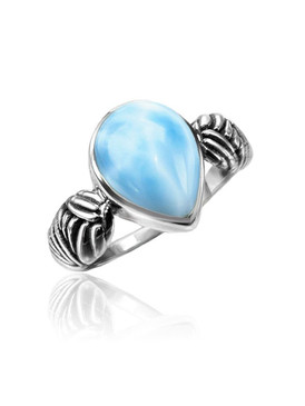 MarahLago Fern Collection Larimar Ring