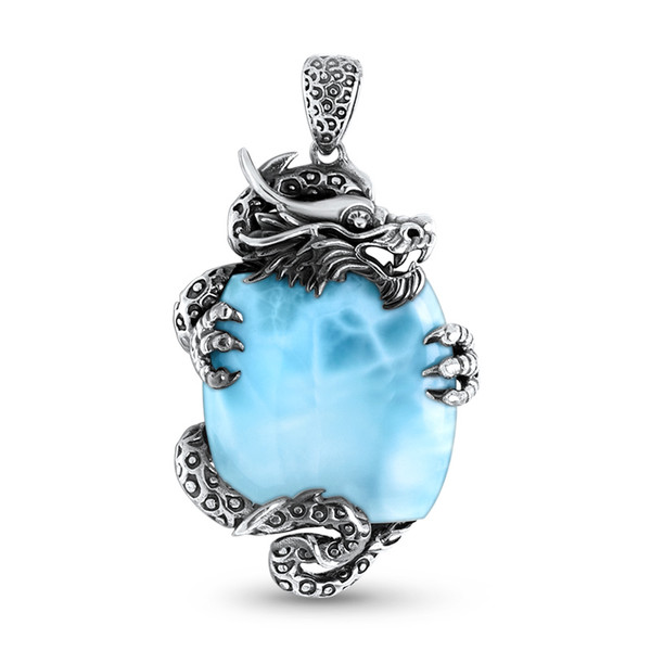 MarahLago Dragon Larimar Necklace