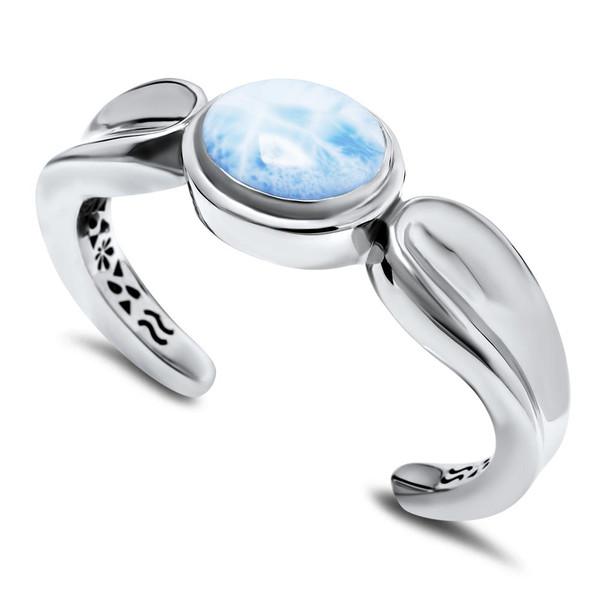 MarahLago Caressa Larimar Cuff Bracelet