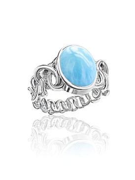 MarahLago Zuma Collection Larimar Ring