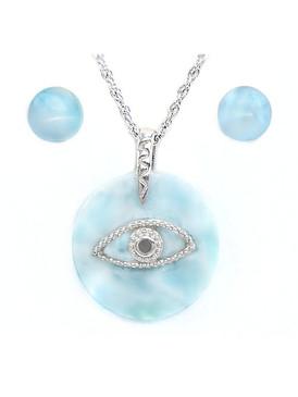 MarahLago Evil Eye Boxed Gift Set - Necklace & Earrings