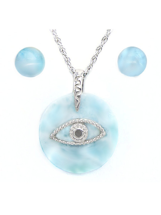 MarahLago Evil Eye Boxed Gift Set - Necklace & Earrings
